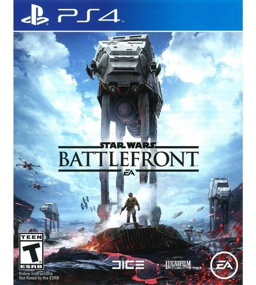 Star Wars Battlefront Físico Para Ps4