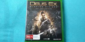 # Jogo Xbox One Deux Ex Mankind Divided Edição One Mídia Fís