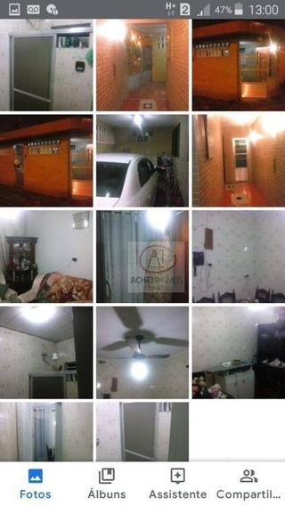 Casa Com 2 Dormitórios À Venda, 115 M² Por R$ 250.000,00 - Serra Do Poço Do Meio - Cubatão/sp - Ca1650