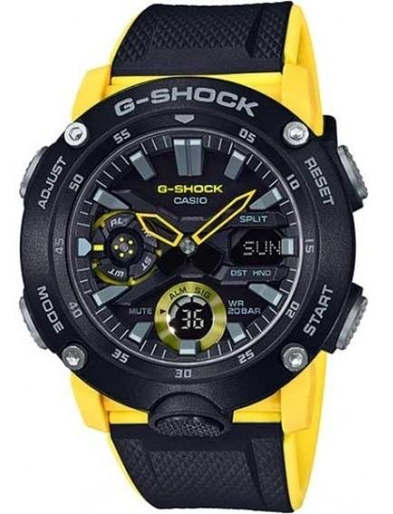 Relógio Casio G-shock Masculino Anadigi Ga-2000-1a9dr