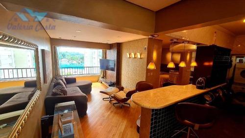 Imagem 1 de 30 de Apartamento Com 1 Dormitório À Venda, 51 M² Por R$ 529.000,00 - Brooklin Novo - São Paulo/sp - Ap1482