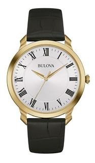 Reloj Bulova Hombre Cuero Clasico 97a123