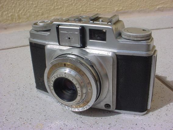 Antiga - Câmera Fotográfica Da Marca Agfa Alemã !!!
