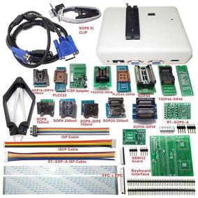 Programador Rt809h +26 Itens Nand Flash Bga Bios Eprom