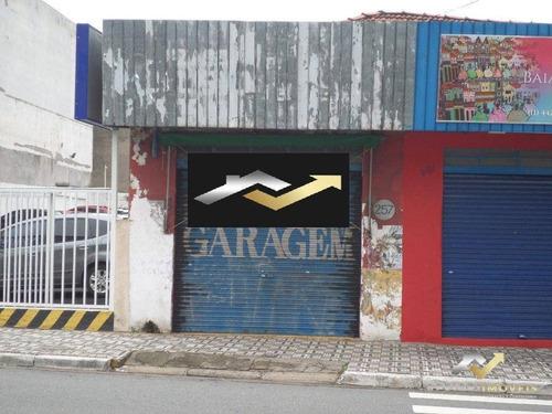 Salão Para Alugar, 55 M² Por R$ 1.700/mês - Centro - Santo André/sp - Sl0162