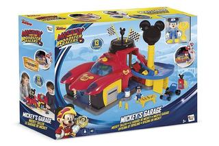 Micke Taller Y Garage Aventuras Sobre Ruedas Disney Tv