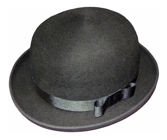 Sombrero Bombin En Fieltro De Lana