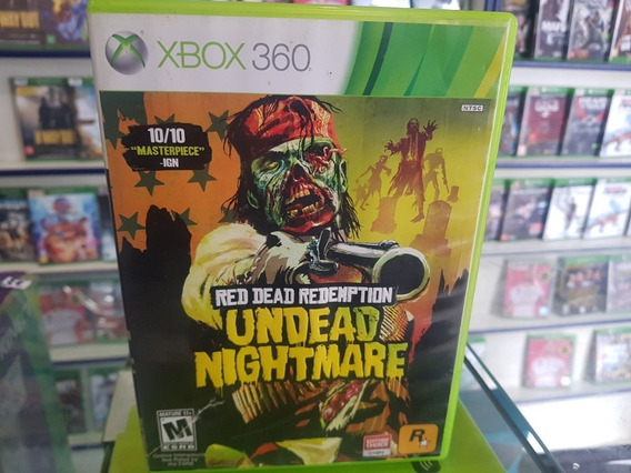 Red Dead Redemption Undead Nightmare Original Xbox 360 Mid