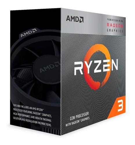 Processador Amd Ryzen 3 3200g Quad-core 3.6ghz