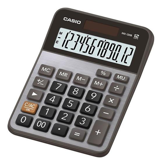 Calculadora Escritorio Casio Mx-120b Garantia Oficial 2 Años