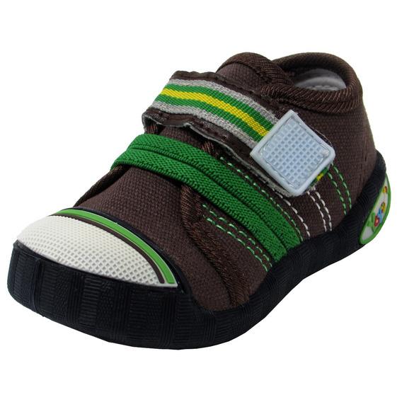 Zapatos Niños Yoyo L1006 Caqui 19-24. Envío Gratis