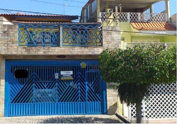 Sobrado Com 3 Dormitórios À Venda, 211 M² Por R$ 560.000 - Parque Terra Nova Ii - São Bernardo Do Campo/sp - So0794