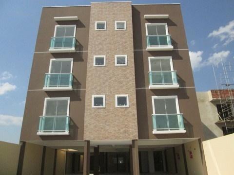 Imagem 1 de 15 de Apartamento Para Venda Em São José Dos Pinhais, Parque Da Fonte, 2 Dormitórios, 1 Banheiro, 1 Vaga - Sjp1322_1-703816