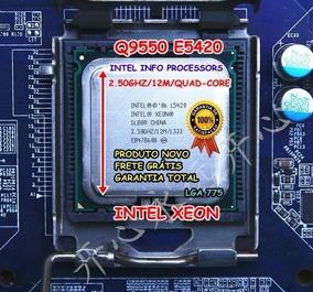 Processador Intel Core 2 Quad Q9550 L5420 * Ne & No + Pasta