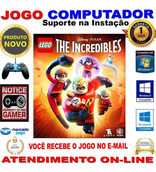 Lego® The Incredibles º Game Pc º Incriveis 2 º Mídia Pc