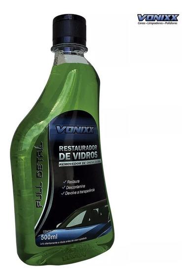 Restaurador Vidros 500ml Vonixx Chuva Ácida Removedor Limpad