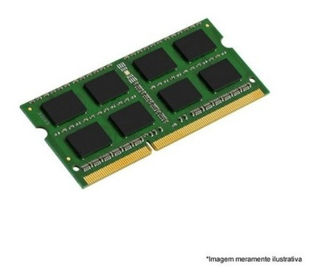 Memória Kingston Low Voltage Para Notebook 4 Gb Ddr3 1600mhz