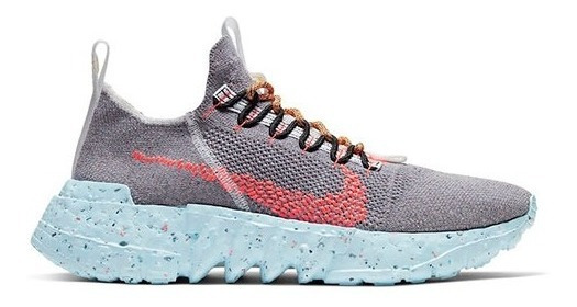 Nike Space Hippie 02 Vast Grey Hyper Crimson