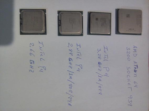Procesador Amd Athlon 64 Socket 939 Y Procesadores Intel P4
