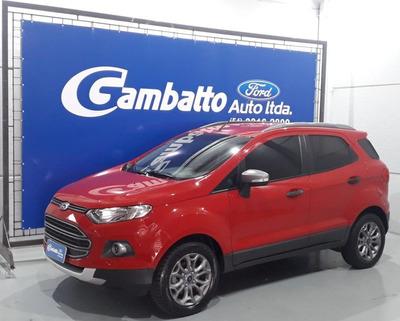 Ford Ecosport Freesyle 1.6 2013 Vermelha Flex