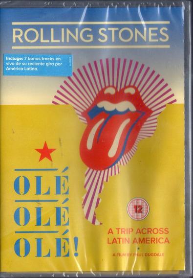 The Rolling Stones Ole Ole Ole Dvd 2017 - Los Chiquibum