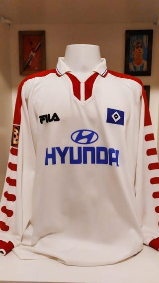 Camisa Futebol Hamburgo Fila 1999 Boger