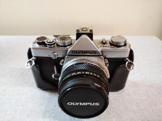 Câmera Olympus Om-1 + 50mm F1.8 F.zuiko Auto-s