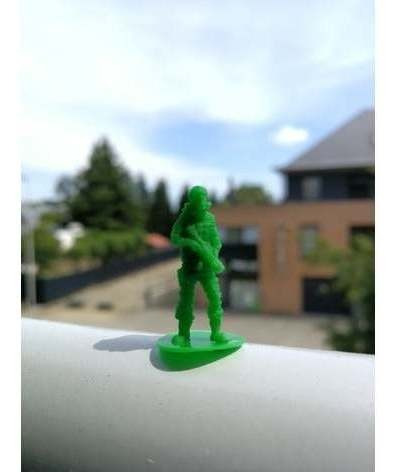 Soldadinhos De Guerra Em Miniatura 2,4 Cm - 20 Unds