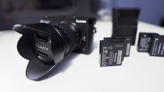 Panasonic Lumix Gx80/85 + Lente 14-45 Sony