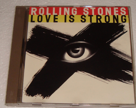 The Rolling Stones Love Is Strong Cd Importado / Kktus
