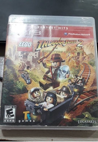 Jogo Lego Indiana Jones 2 The Adventure Continues Ps3 Fisica