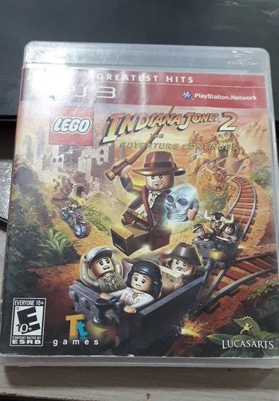 Jogo Lego Indiana Jones 2 The Adventure Continues Ps3 Fisica