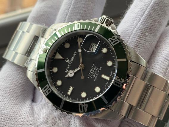 Relógio Revue Thommen Diver Xl Green Automatic 17571.2134