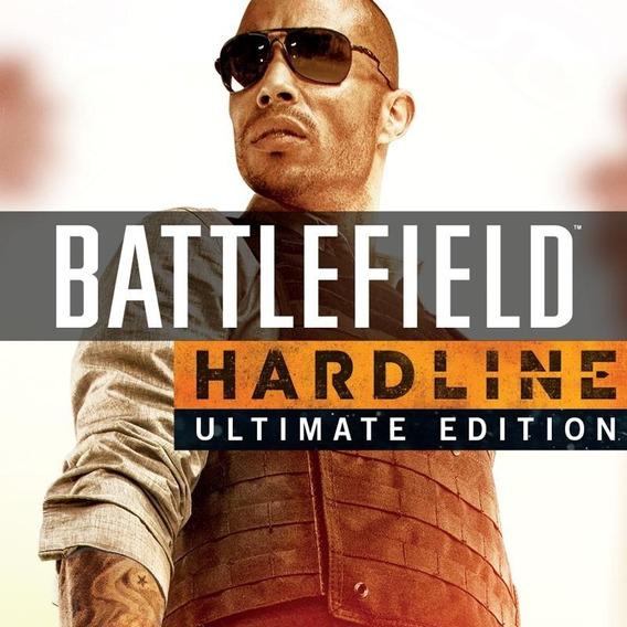 Battlefield Hardline Ultimate Edition Ps3 Inglês Espanhol