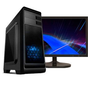 Pc Gamer I5 4gb Hight 500gb Gtx 1050 + Monitor