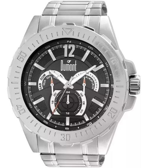 Relógio Masculino Dumont -grande- Promo 50% -mod Du6p29abs