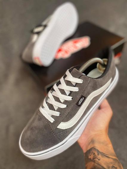 Tênis Vans Old Skool Cinza