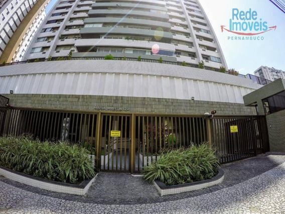 Apartamento Com 3 Dormitórios, 210 M² - Venda Por R$ 950.000 Ou Aluguel Por R$ 5.000/mês - Espinheiro - Recife/pe - Ap10150