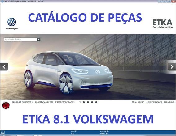 Catálogo Eletrônico De Peças Etka 2020 Vw Seat Skoda Audi