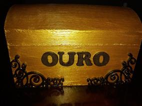 Bauzinho ( Porta Jóia ) Cigana Do Ouro