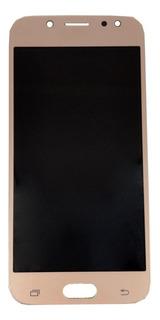 Frontal Tela Touch Display Lcd J5 Pro J530 Dourado Oled Novo