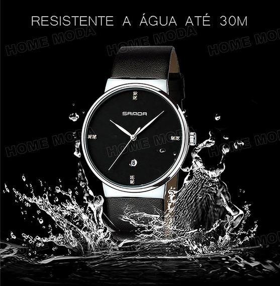 Relógio Casual Elegante Importado Original Masculino