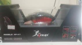 Mouse Com Fio Para Game Modelo: Hp-v7