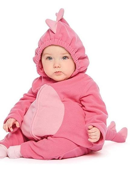 Disfraz Para Bebe Color Rosa Talla 3/6 Meses Marca Carter