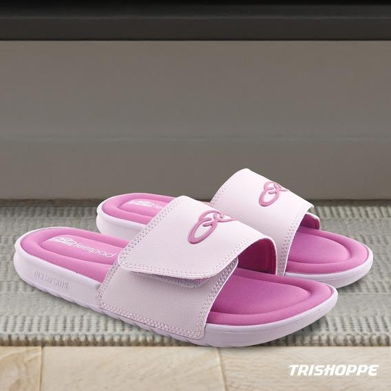 Chinelo Slide Feminino Olympikus Feetpad Pronta Entrega