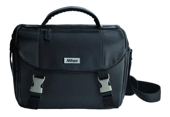 Estuche Para Cámara Réflex Nikon 17001 Negra Nueva Egratis