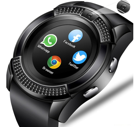 Reloj Inteligente Smart Watch V8 Fralugio Camara Memoria