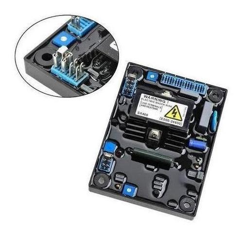 Imagen 1 de 3 de Sx460 Avr Regulador De Voltaje Planta Generador D Luz Sx460