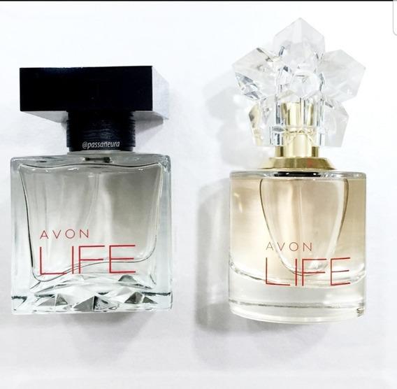 Perfume Avon Feminino Life + Maculino Life
