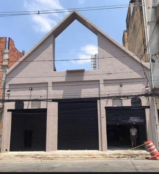 Galpão Em Cambuci, São Paulo/sp De 360m² Para Locação R$ 8.500,00/mes - Ga483851